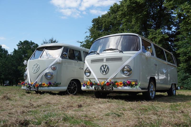 VW Camper Wedding Car Hire